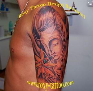 modele tatuaje brat intreg saloane tatuaje piercing roxy tattoo bucuresti