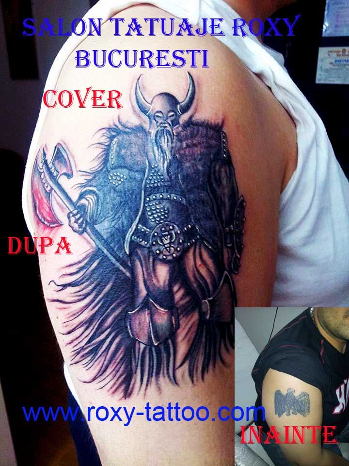 Viking Cover Up Tattoos