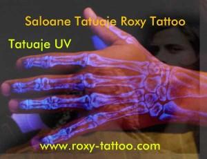 tatuaje UV roxy tattoo salon tatuaje Bucuresti