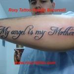 Scris caligrafic  antebrat manaTatuaj Tatuaje Tattoo Tatoo