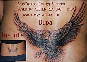 vultur acoperire tatuaje vechi