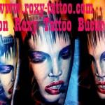 saloane tatuaje bucuresti roxy tattoo portrete femeie