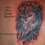 luptator portret tatuaje Roxy