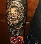 ceas trandafir mana modele tatuaje roxy tattoo