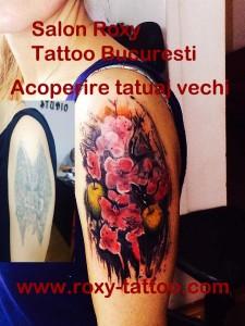 cover tatuaje si portret chip femeie salon tatuaje bucuresti roxy