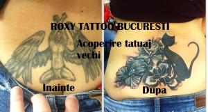 acoperire tatuaje vechi saloane taujae roxy tattoo bucuresti
