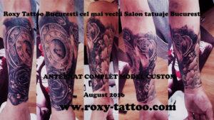 tatuaje bucuresti roxy tattoo antebrat complet tatuat