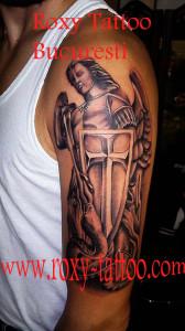 arhanghel tatuaj bucuresti