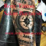 ceas busola modele tatuaje salon tatuaje bucresti