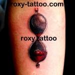 clepsidra tatuaje roxy tattoo