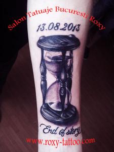 clepsidra tatuaje modele roxy tattoo