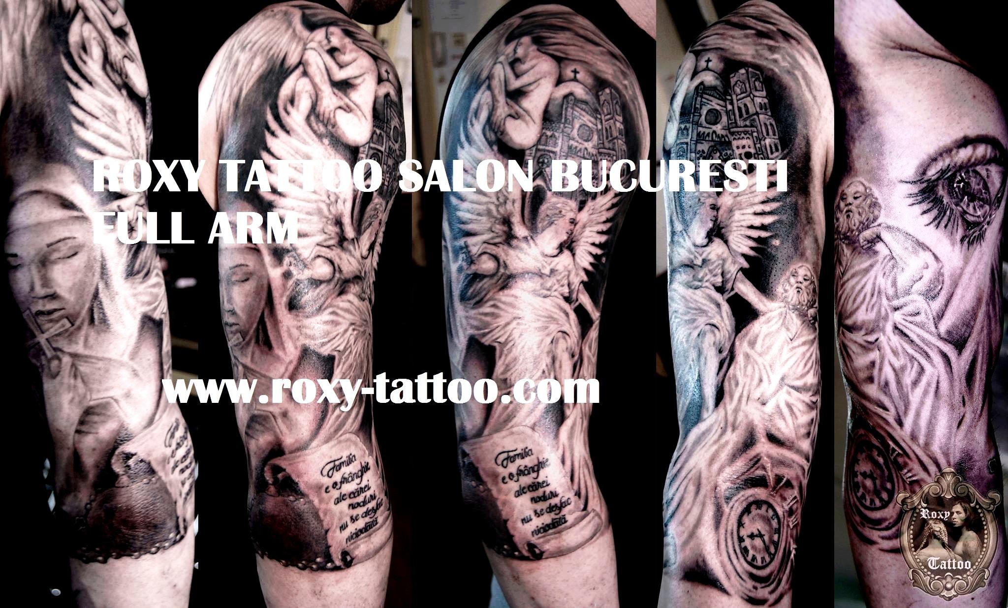 tatuaje bucuresti model custom roxy