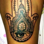 palma indiana tatuaje bucuresti