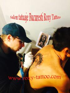 tattoo artist bucharest Roxy salon