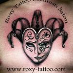 masca venetiana salon tatauje roxy tattoo