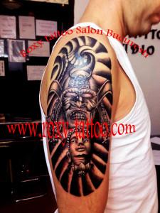 tatuaje egipyene brat full sleeve roxy tattoo