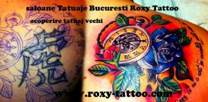 modele tatuaje acoperire litere mana