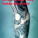 modele tatuaje sleeve biomacanic mana