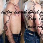 modele tatuaje spate copac