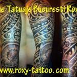 modele tatuaje sleeve maori