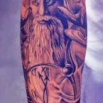 modele tatuaje gandalf mana