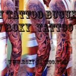 modele tatuaje mana sleeve japoneze biomecanic