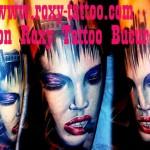 modele tatuaje portret femeie mana
