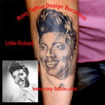 modele tatuaje portret mana little richard