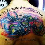 tatuaje bucuresti roxy motociclisti