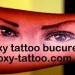 portret ochi fata tatuaje