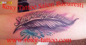 modele tatuaje fete pana color roxy