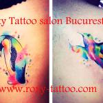 pasari tatuaje modele