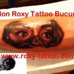 portret ochi femeie tatuaje roxy bucuresti