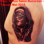 portret femeie tatuaje